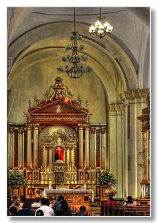 La Antigua GCA - Catedral de San José interior
