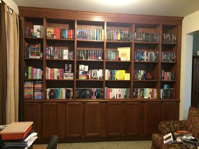 brittany bookshelf
