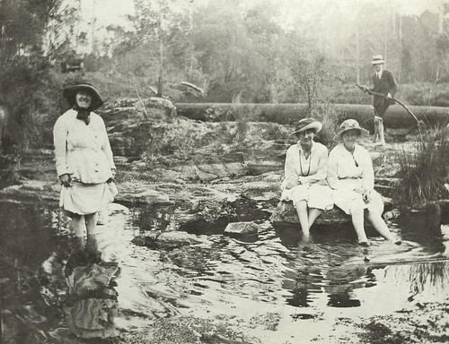 family river queensland weir statelibraryofqueensland canungra slq qanzac