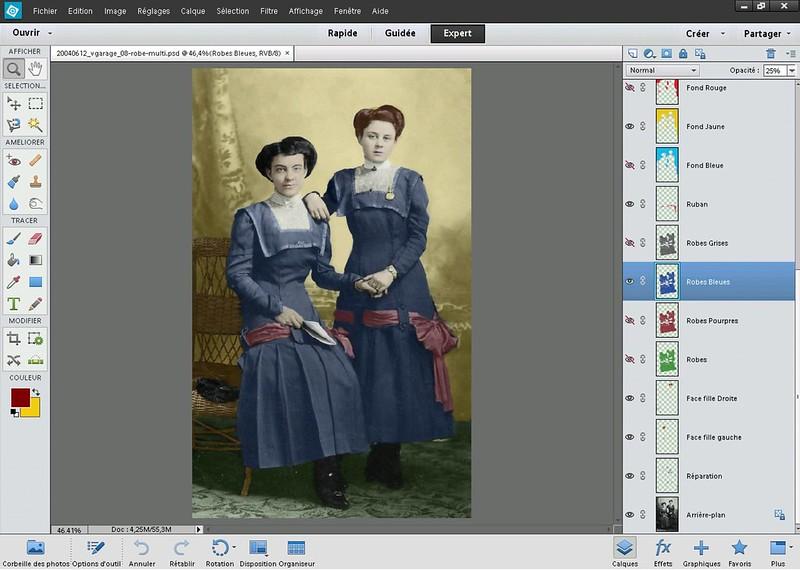 Coloriser une photo avec Photoshop éléments 12