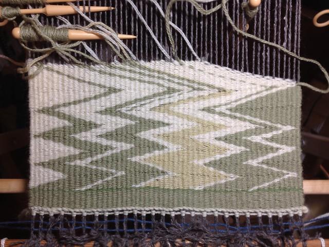 Green Wedge Weave