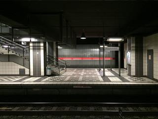 U-Bahn Haltestelle Hauptbahnhof, Bielefeld