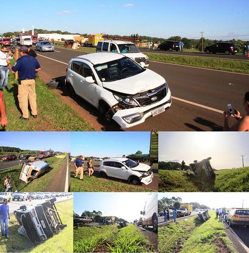 acidente BR 376