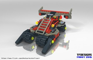 Spyrius RG94 Race Rover (LDD Building Instructions)  by  MR FROST