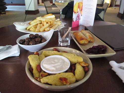 tapas at the heritage lobby bar