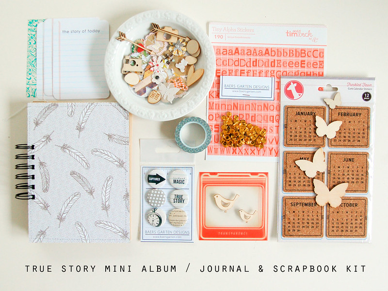 True Story Journal and Scrapbook Kit