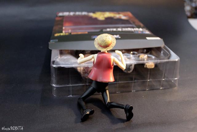 【玩具人野比(aka Nobita)投稿】千值練 歐洲限定 Amazing Action Figure 海賊王 艾斯 不專業開箱