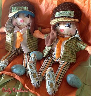 Mr.s Bunny Bonbons by Rosanna Hope for Babybonbons