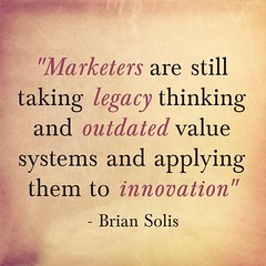 We take legacy thinking+outdated values & apply them to this new world of innovation http://bit.ly/1GdYZK7 via @naullyn