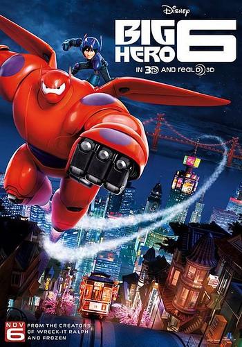 超能陆战队 Big Hero 6 (2014)海报