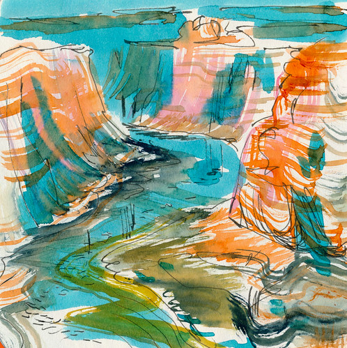 March 2015: Canyon Trip - Colorado River (Horseshoe Bend)