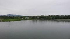 Most przez jezioro i rzekę Brooks
