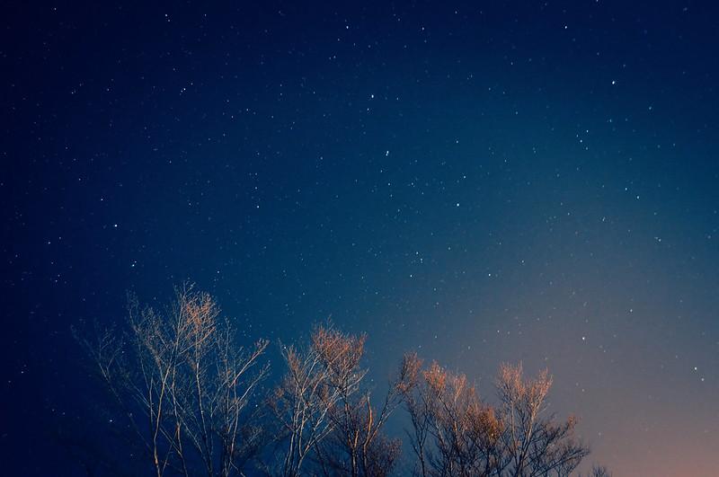 グリーンピア津南で見た星空_201503_NO2