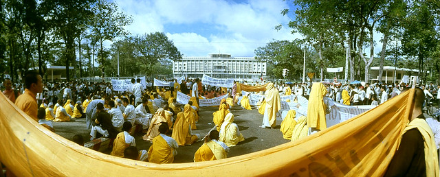 1967 Demonstrations In Saigon - Buddhist March - by Co Rentmeester