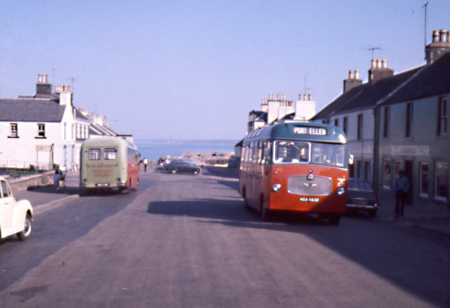 Macbraynes buses Bowmore Islay