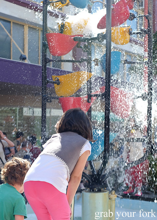 Bucket Fountain at the Cuba Dupa Festival 2015, Wellington