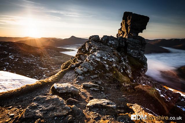 Sunrise on The Cobbler [IMG_5764]