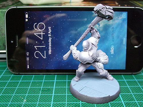 Ajax Miniature Undercoated
