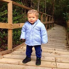 El Agu haciendo su primer trail