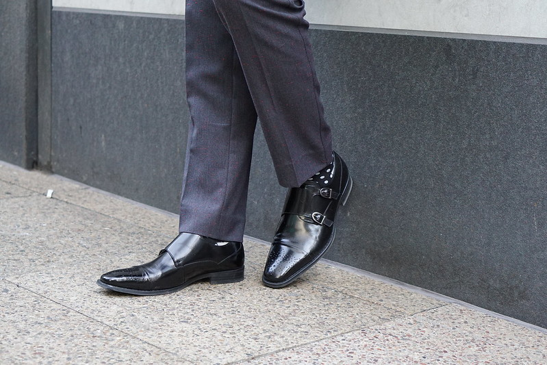 double monks shoes