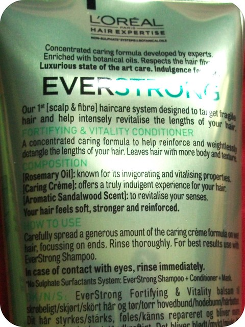 L'Oreal EverStrong Conditioner