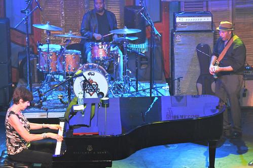 Marcia Ball at WWOZ Piano Night 2015.  Photo by Kichea S Burt.