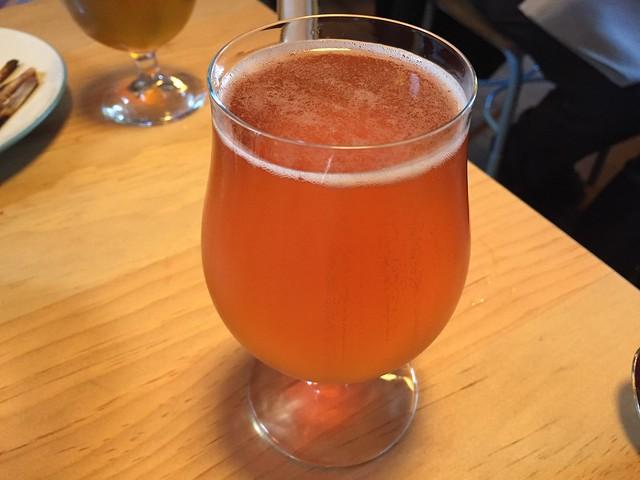 Blood Orange Gose beer - Liholiho Yacht Club