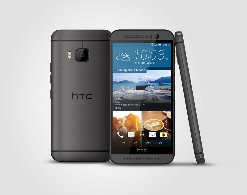 HTC One M9 - Single-tone Gunmetal Grey