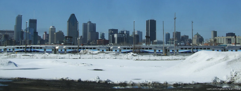 Montreal skyline 2 - panoramic