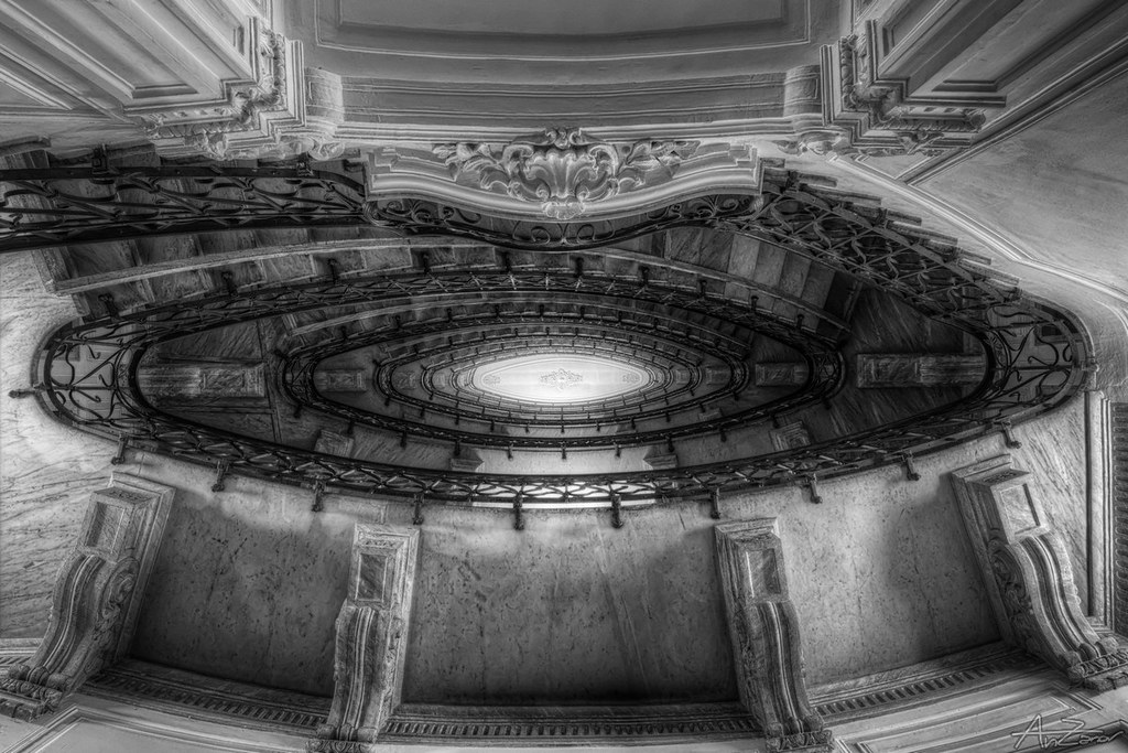 Just another spiral staircase 2014-06-23 185528 BW SEP