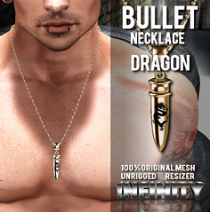 !NFINITY Bullet Necklace - Dragon