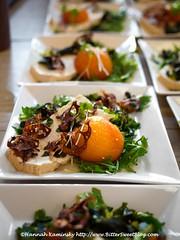 Sound & Savor - Peach Salad