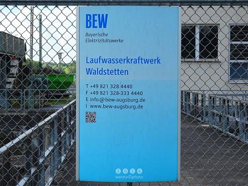 Günz -der Fluss > am  Günzstausee Waldstetten in  Bayerisch Schwaben