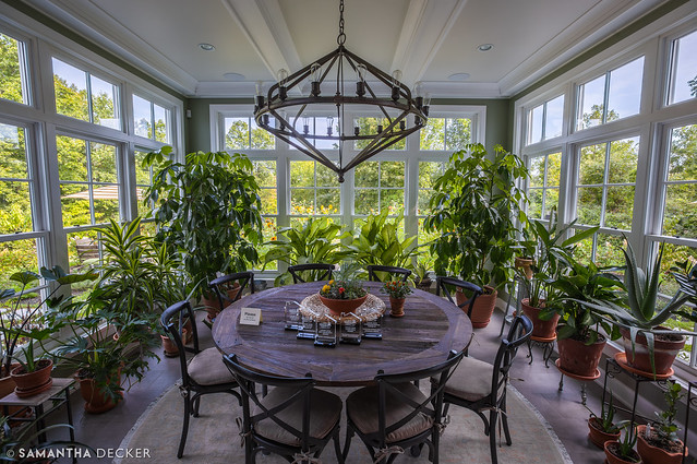 A Green Dining Room