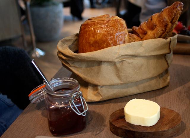 Pastries at Darwin Brasserie, London
