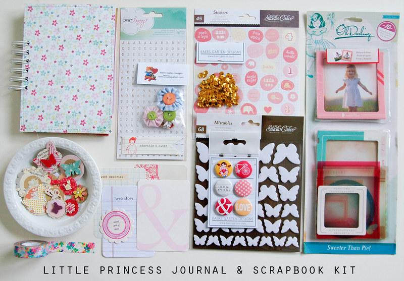 Little Princess Journal and Scrapbook Kit