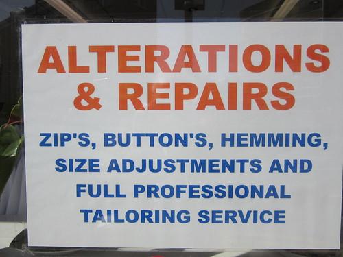 Zip's, button's