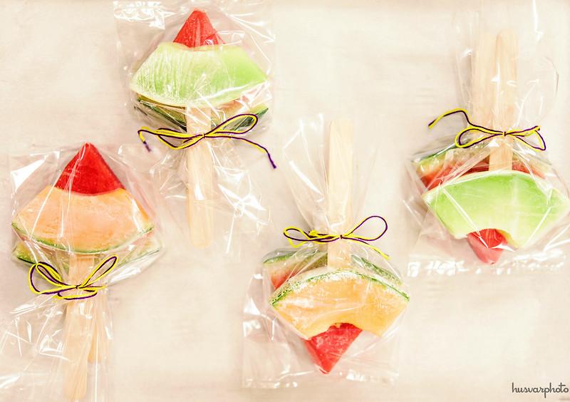 frozen melon on sticks healthy kids snacks #SidelineHero #CollectiveBias