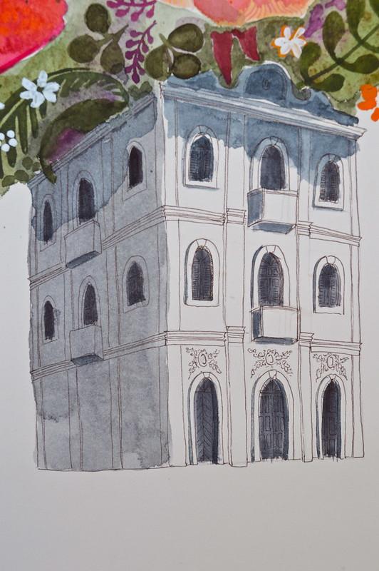 Casa das Flores (detail)