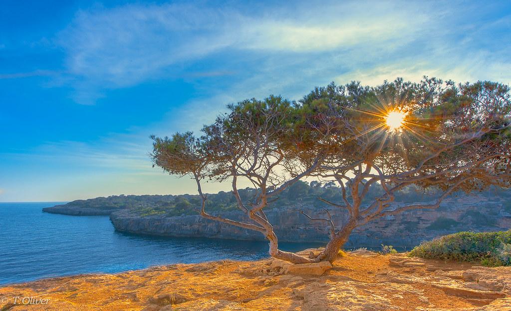 La magia de la luz.. ( Costa sur Mallorca )