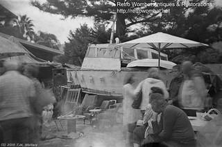 Retro Wombat antique store (1954 expired Dufay Ortho 620 film)