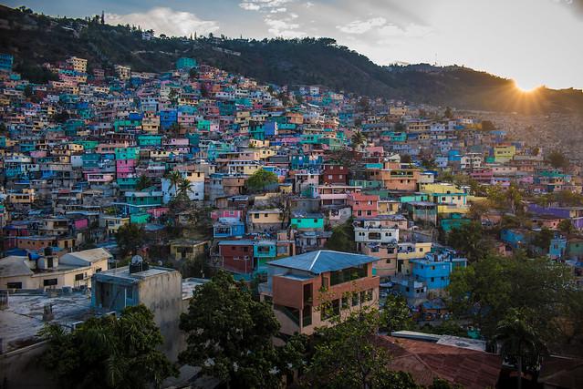 Haïti 2015_16: Bidonville Sunset