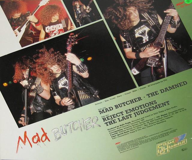 """Destruction Mad Butcher 12"""" Mini-LP"""