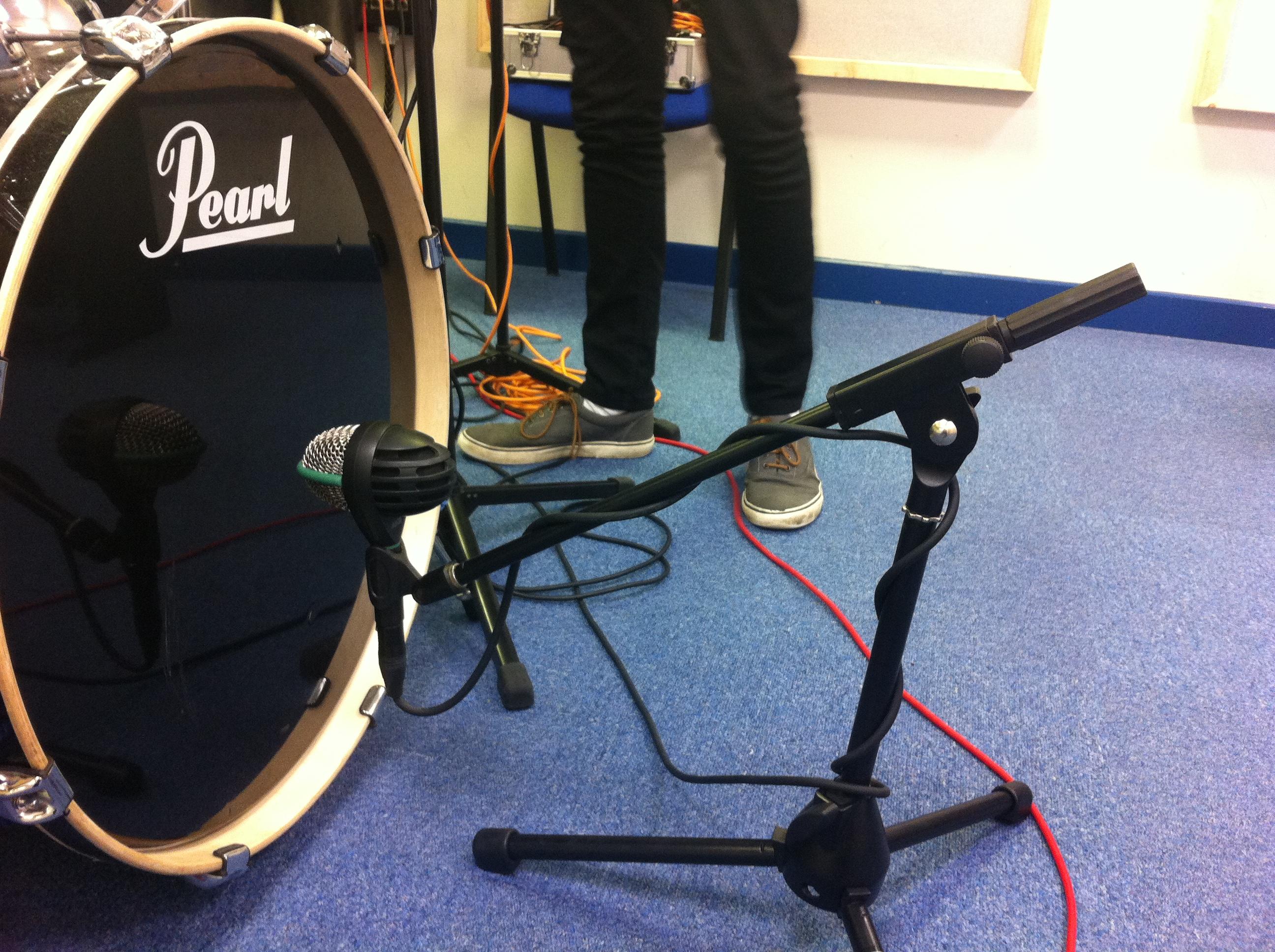 microfonear bateria 1 mic