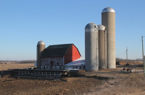 Mount Ida, Wi- Old but very active barn & barnyard