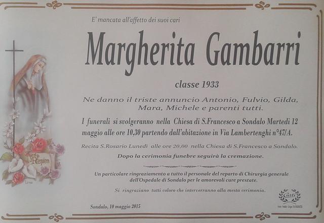 Gambarri Margherita