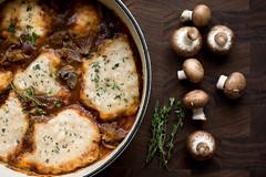 Beef Stew with Cheddar Herb Dumplings