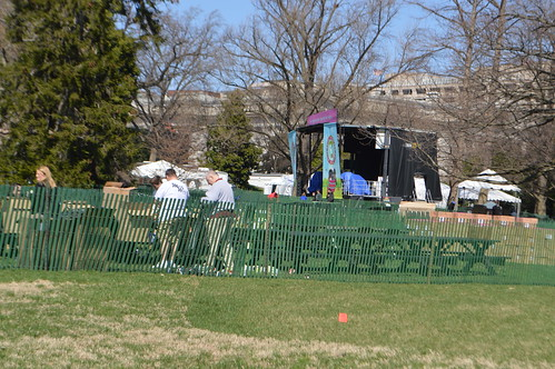 The White House Easter Egg Roll in Washington, D.C. USA