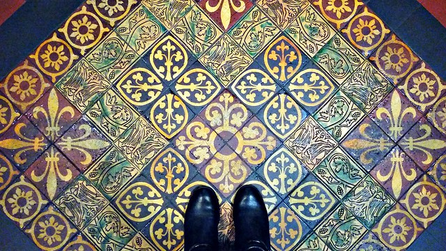 Floor of St. Patrick's Cathedral Dubline