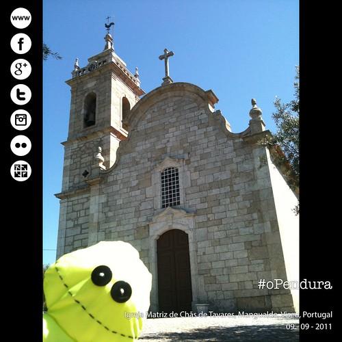 Igreja Matriz de Chãs de Tavares, Mangualde, Viseu, Portugal